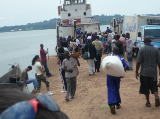 The Entebbe ferry